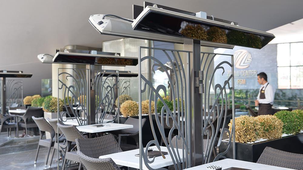 infrarotstrahler ausenbereich, neu bei easytherm: stylische infrarotstrahler für den außenbereich, Design ideen